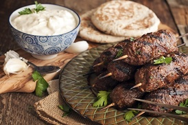 Kabob Shack: $1 Buys You a Coupon for 10% Off Of Your Entire Purchase at Kabob Shack