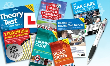 The Learner Driver Gift Pack: Theory Test Papers and Driving Test PC/DVD for £9.98