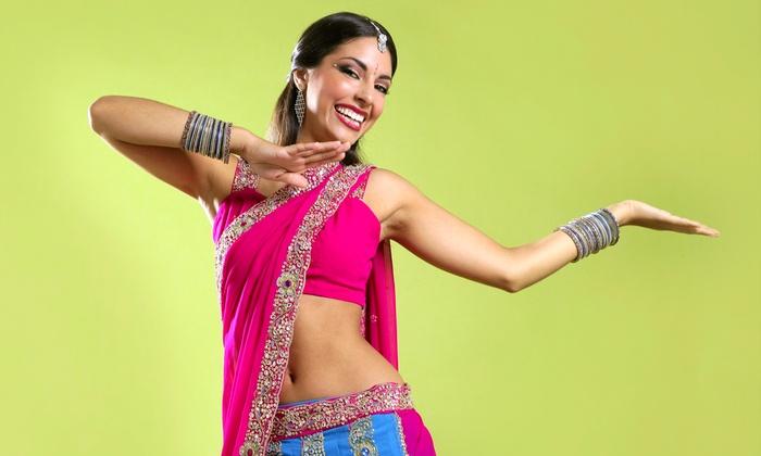 Bollywood Steps - Torrey Highlands Plaza,: Four or Eight Bollywood Fitness Classes at Bollywood Steps (Up to 55% Off)