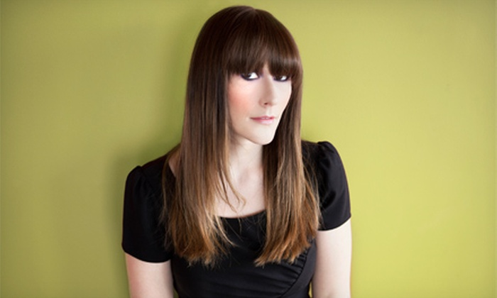 Cabella Salon - Mont royal: $42 for Haircut, Colour Consultation, Chemistry System Treatment, and Blow-Dry Lesson at Cabella Salon ($115 Value)