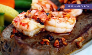 Woody's Wharf Newport: $22 for $40 Worth of Seafood and Steak at Woody's Wharf