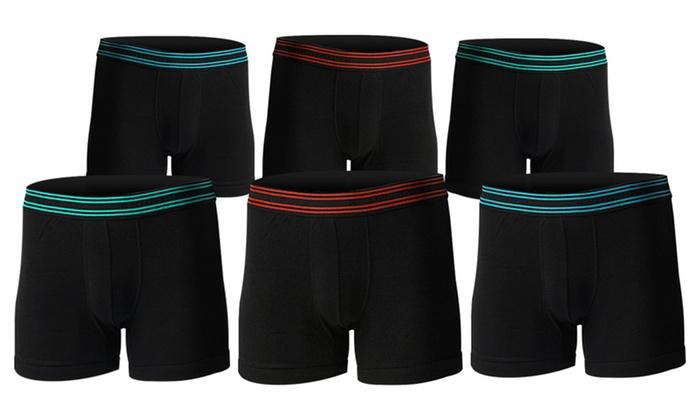 Body Glove Men's Boxer Briefs (6-Pack)