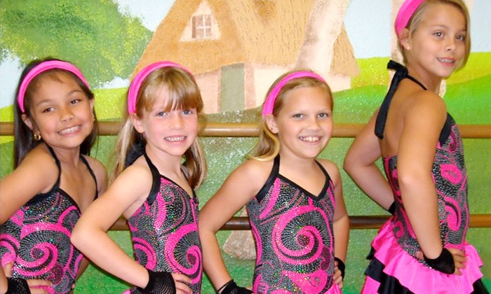 Tricks Gymnastics, Dance, and Swim - Multiple Locations: One Month of Dance or Gymnastics Classes (Up to 58% Off). Four Options Available.