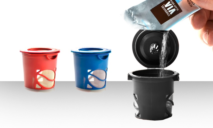 3-Pack of True Brew  Reusable Single-Serve Coffee Cups: $8.99 for a 3-Pack of True Brew Reusable Single-Serve Coffee Cups ($19.75 List Price). Free Returns.
