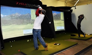 Leading Edge Golf: $39 for 90-Minute Indoor Golf Simulator Session for Up to Four People at Leading Edge Golf ($65 Value)