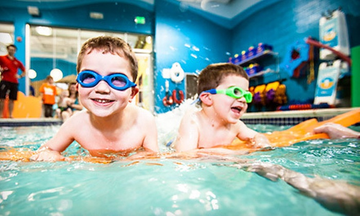 Goldfish Swim School - Carmel: $199 for a Two-Hour Kids' Pool Party for Up to 24 at Goldfish Swim School ($450 Value)