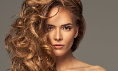 image for <strong>Haircut</strong> and Style with Option of Full Highlights at Believe Salon & Spa (32% Off)