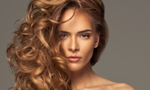 New Day Hair & Skin Salon: Haircut with Optional Single-Process Color or Partial Highlights at New Day Hair & Skin Salon (Up to 48% Off)