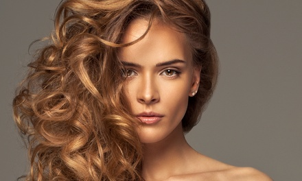 Cut and Style with Optional Highlights or Color from Lamar Ruxlow at Serenity Spa & Tanning (Up to 68% Off)