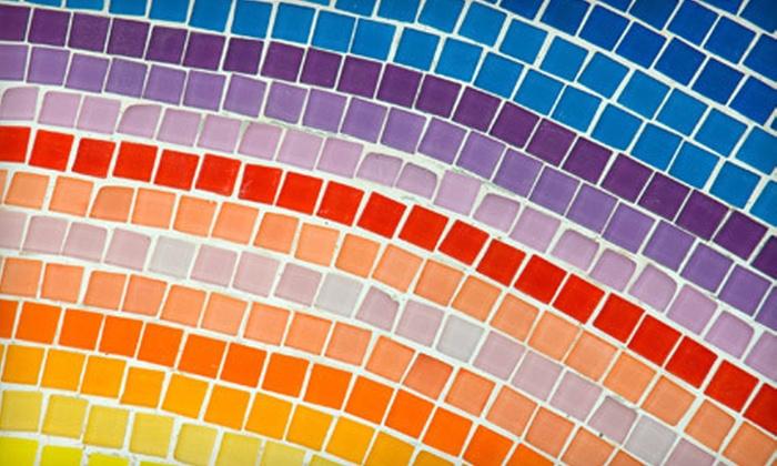 Crossroads Art Center - Near West End: $55 for a Three-Hour Beginners Mosaics Art Class at Crossroads Art Center ($110 Value)