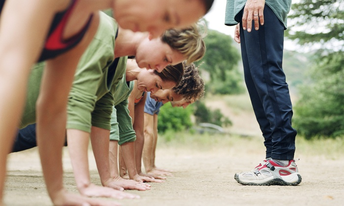 VyAyr Fitness - Crissy Field: Unlimited Boot Camp for One or Two at VyAyr Fitness (50% Off)