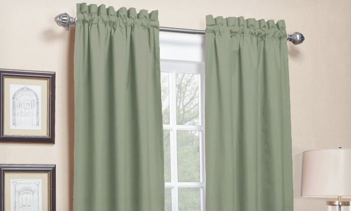 Blackout or Taffeta-Lined Window Panel: $11.99 for a Blackout or Taffeta-Lined Window Panel ($45 List Price). Multiple Styles. Free Returns.