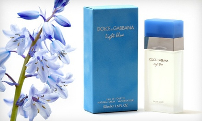 Light Blue by Dolce & Gabbana for Women: Light Blue Eau de Toilette Spray for Women by Dolce & Gabbana (Up to 32% Off). Three Sizes Available. Free Shipping.