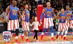 Harlem Globetrotters : Harlem Globetrotters Game Plus Magic Pass Option on February 7 at 1 p.m.