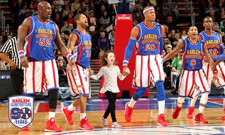 Harlem Globetrotters Game on April 21, 2016, at 7 p.m.