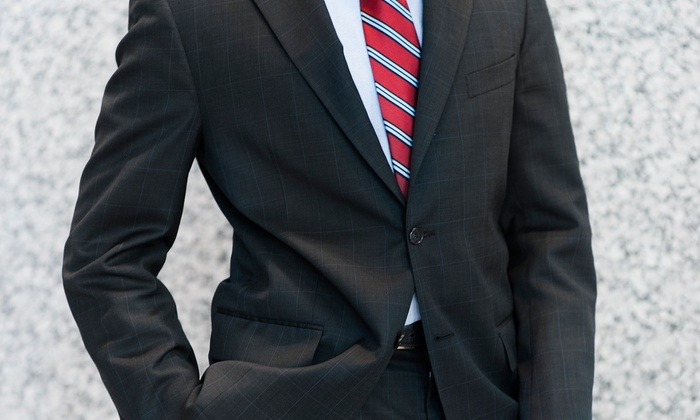Bunbury Custom Clothiers - Raleigh: $599 for a Custom Suit Package with a Shirt and Tie at Bunbury Custom Clothiers (Up to $1,735 Value)