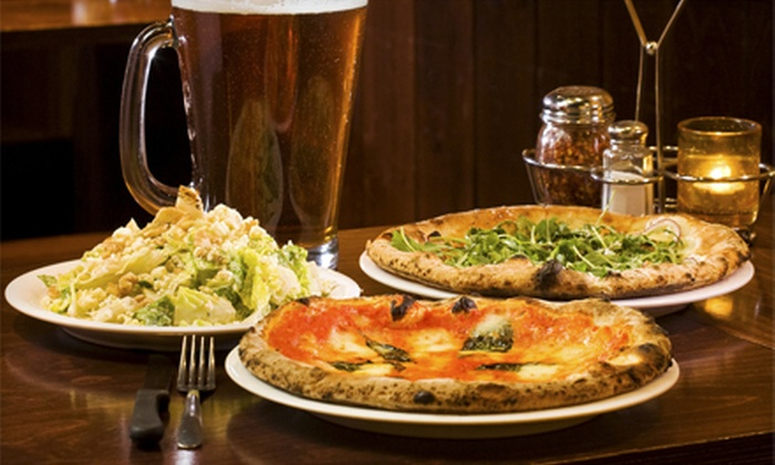 Somma Pizza - Verona: Two Large, One-Topping Takeout Pizzas or $10 for $20 Worth of Dine-In Pizza, Salads, and Sandwiches from Somma Pizza