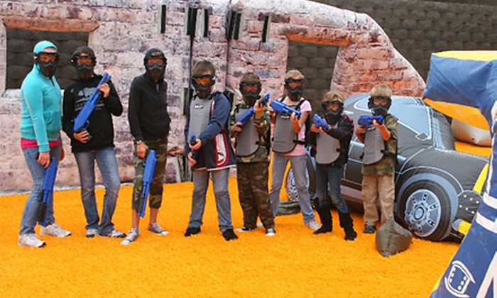 Paintball International - Santa Clara Paintball: $29 for a SplatMaster Private Paintball Party for 10 Kids from Paintball International ($149 Value)
