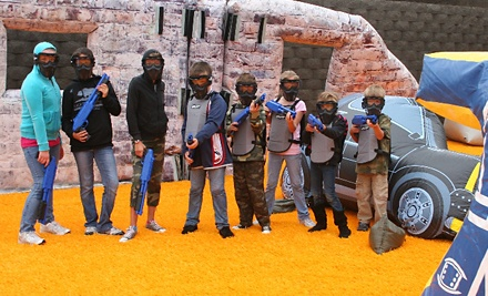 $29 for a SplatMaster Private Paintball Party for 10 Kids from Paintball International ($149 Value)