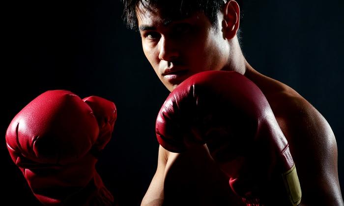 Maguilla Brazillian Jiu-jitsu Academy - Washington DC: 10 Group Boxing-Training Sessions from Boxing/Brazilian Jiu Jitsu/MMA (54% Off)