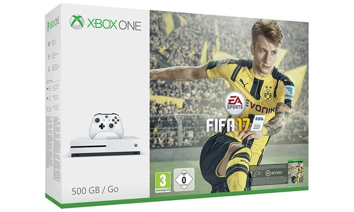 Groupon Goods Global GmbH: Xbox One White, Fifa17 e Forza Horizon 3 a 267,99 € (27% di sconto)