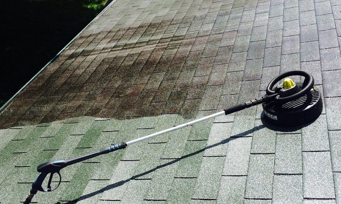 Howard's Eave And Roof Detailing - Lansing: Pressure Washing from Howard's Eave and Roof Detailing (50% Off)
