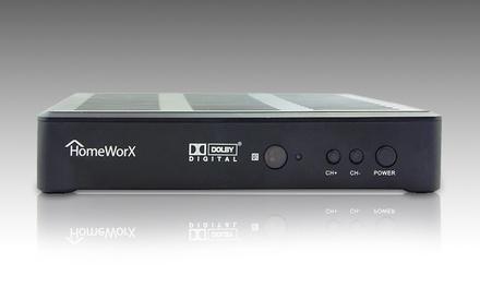 HomeWorx HDTV 1080p Full-HD Digital Converter Box