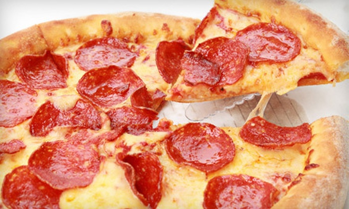 Aldo's Pizza - Martin: One or Two Large One-Topping Pizzas with Garlic Bread at Aldo's Pizza (Up to 56% Off)