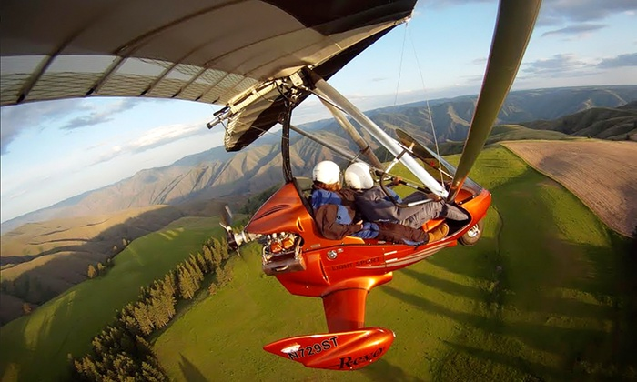U.S Airborne - Asotin: $129 for a 60-Minute Instructional Discovery Trike Flight from U.S Airborne ($220 Value)