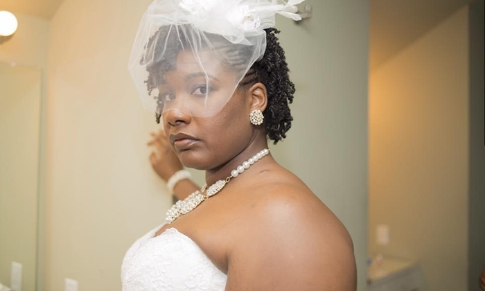 Natural Hair by Nerissa - Portsmouth: Bridal Updo-Styling Session from Natural Hair by Nerissa (57% Off)