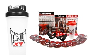 Tapout XT DVD Base Kit with a Supplement Shaker Cup