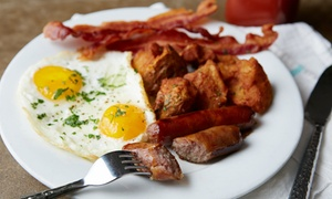 The Saugus Cafe: Diner Food for Two or Four or More at The Saugus Cafe (48% Off)