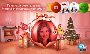My M&M'S® : Idea regalo: personalizzate le vostre M&M's® con un buono d'acquisto da 15 € a soli 3,50 €