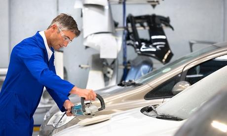 49,95 € por descuento de 300 € en un servicio de reparación de chapa y pintura en Talleres Valman Auto