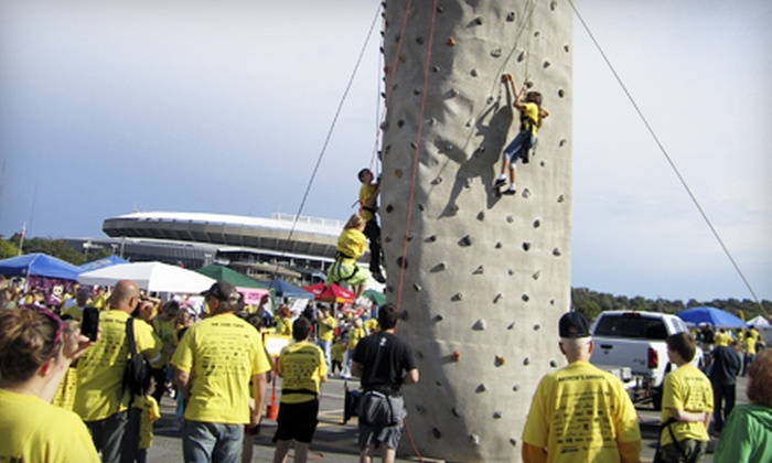 Ibex Climbing Gym - Country Club Plaza: $249 for a Three-Hour Portable-Climbing-Wall Rental from Ibex Climbing Gym ($500 Value)