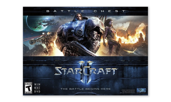 Starcraft II Battle Chest for PC or Mac