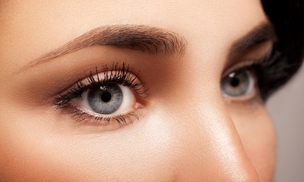$100 for Eyebrow Microblading or Eyeliner Semi Permanent Make Up at Hair & Beauty (Up to $200 Value)