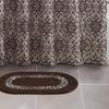 Bath Set with Oval Rug