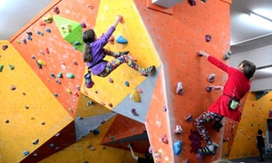 Climb Rochdale-pink climbing centres ltd: Climbing Day Pass for Up to Five with Bouldering Instruction at Climb Rochdale Pink Climbing Centres (Up to 80% Off)