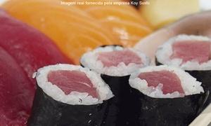Koy Sushi: Koy Sushi – Boa Viagem: combinado com 30 rolls ou 2 temakis
