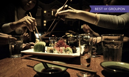 $30 for $50 Worth of Sushi for Two at Tsunami Sushi Panhandle