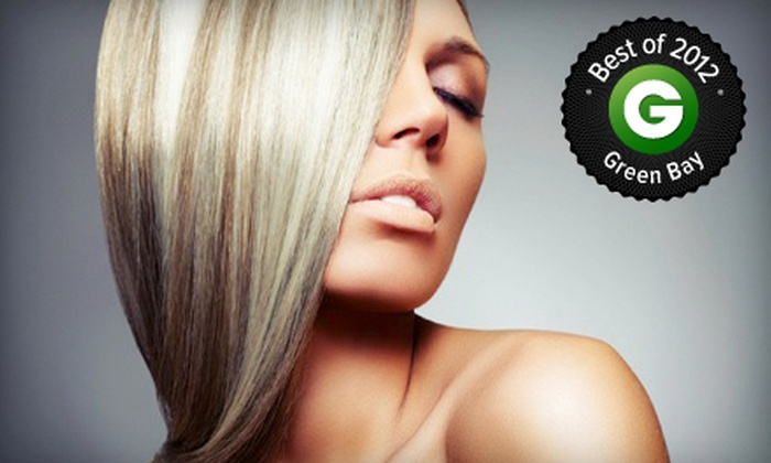 Bella Salon and Spa - Ashwaubenon: Haircut and Style with Deep-Conditioning Treatment or Partial or Full Highlights at Bella Salon and Spa (Up to 60% Off)
