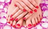 Ageless Salon & Spa - Eiber: A Spa Manicure and Pedicure from Ageless Salon & Spa (50% Off)