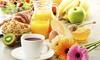 Frans ontbijt of lunch