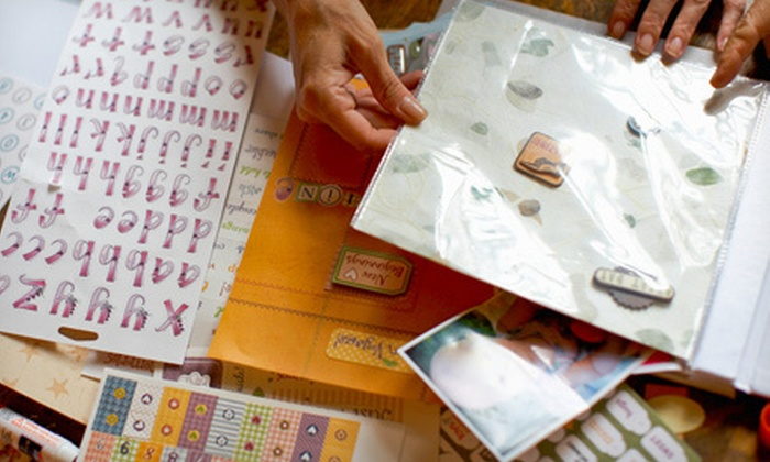 Every Last Scrap - McKinney: Scrapbooking Supplies and Classes at Every Last Scrap (Half Off). Two Options Available.
