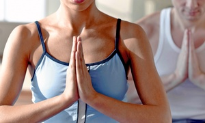 Gold's Gym: 5 or 10 Yoga Classes at Gold's Gym (Up to 81% Off)