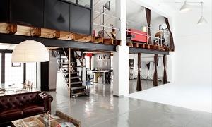 The Loft Studio: Book fotográfico para 1 o 2 personas o temático más tratamiento rejuvenecedor desde 16 € o videobook por 24 €