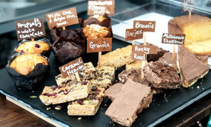 image for Cake and Coffee For Two for £5 at Kafe Bloc (Up to 37% Off)