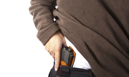 Concealed-Carry Course or Intro to Concealed-Carry Course for One or Two from ABQ Fast (Up to 44% Off)