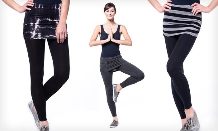 Tart Yoga Rollover Leggings: $16.99 for Tart Yoga Rollover Leggings ($48 List Price). 4 Colors Available. Free Shipping and Returns.